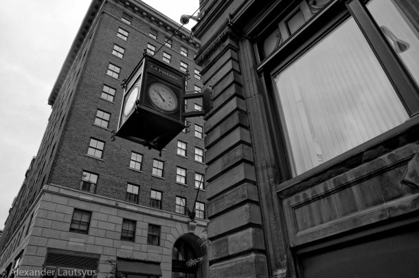 Street Clock in Montreal